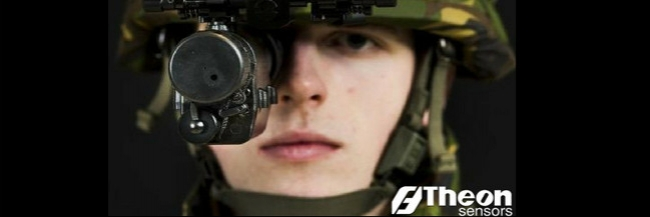 HANDOVER OF THEON NIGHT VISION GOGGLES TO DUTCH MOD