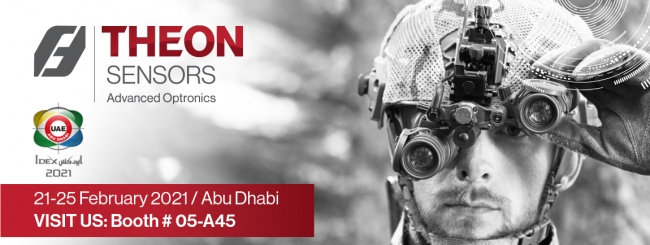 THEON SENSORS AT IDEX 2021