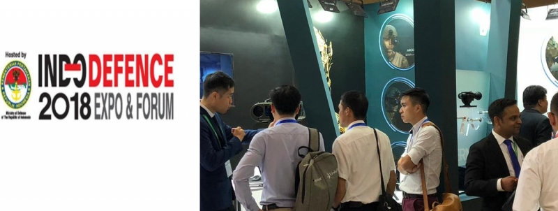 THEON PARTICIPATED AT INDODEFENCE 2018