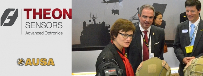 AUSA 2019 ANN CATALDO'S SPEECH AT THEON SENSORS' BOOTH
